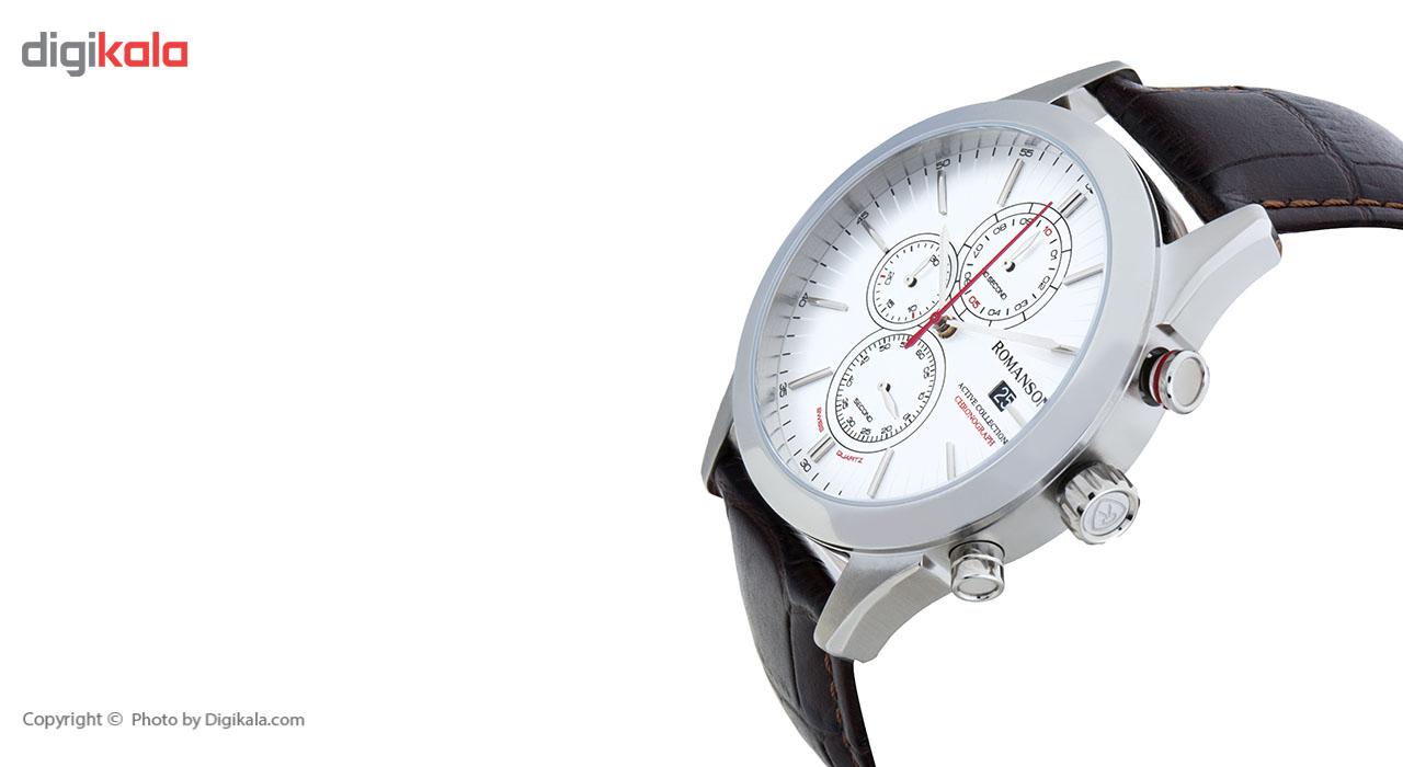 ساعت مچی عقربه ای مردانه رومانسون مدل AL6A07HMNWA1R5