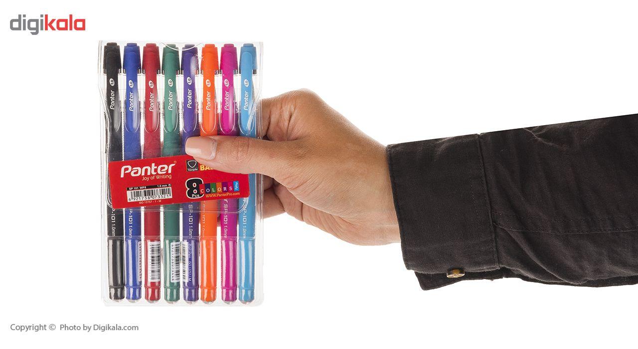 خودکار 8 رنگ پنتر مدل Sp 101 main 1 4