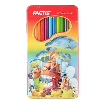 مداد رنگی 12 رنگ فکتیس مدل F071120121004 طرح 2