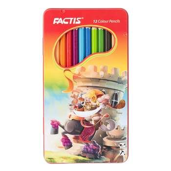 مداد رنگی 12 رنگ فکتیس مدل F071120121004 طرح 4
