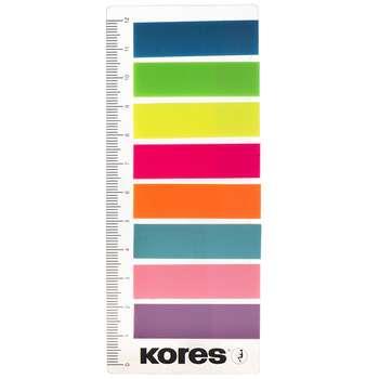 کاغذ یادداشت چسب دار کورس مدل Film Index Strips on Ruler - بسته 200 عددی
