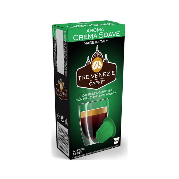 کپسول قهوه ترونیز مدل CREMA SOAVE بسته 10 عددی