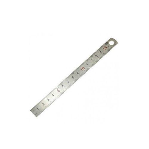خط کش دلی مدل فلزی کد 8461 سایز 15 سانتی متر