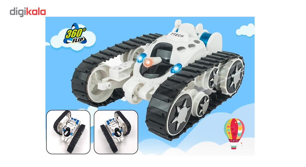 تانک اسباب بازی کنترلی مدل 666888B