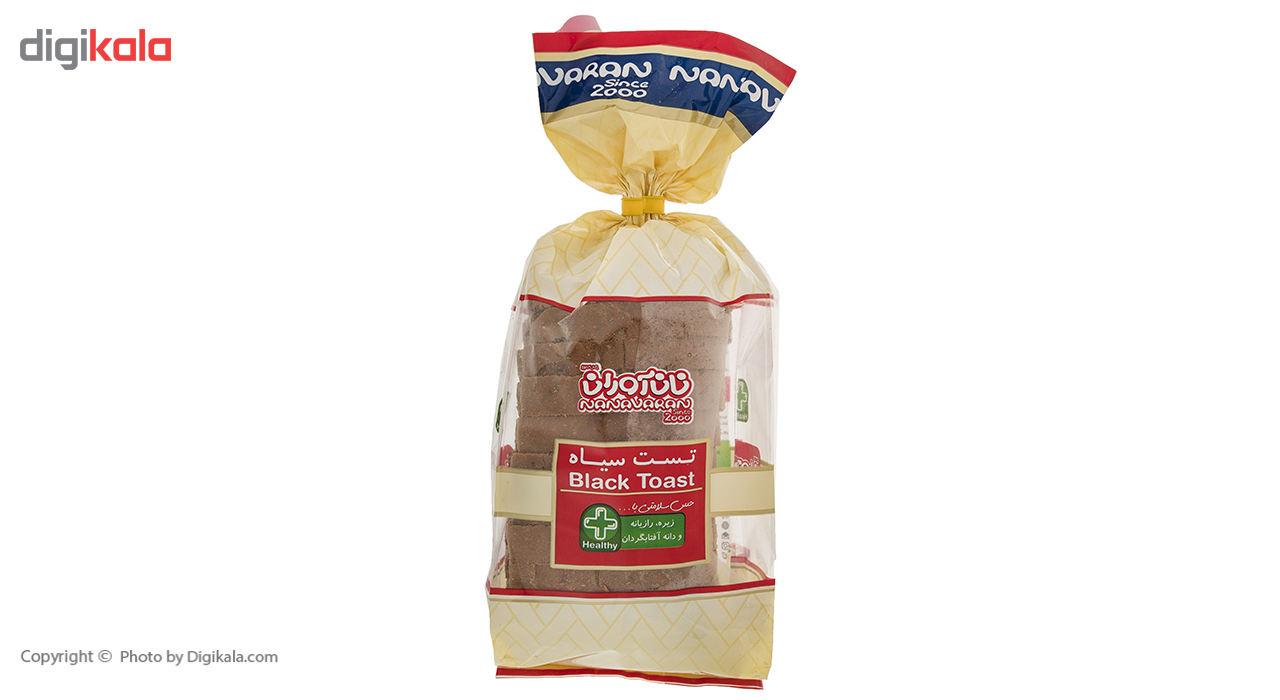 نان تست سیاه نان آوران مقدار 270 گرم main 1 3