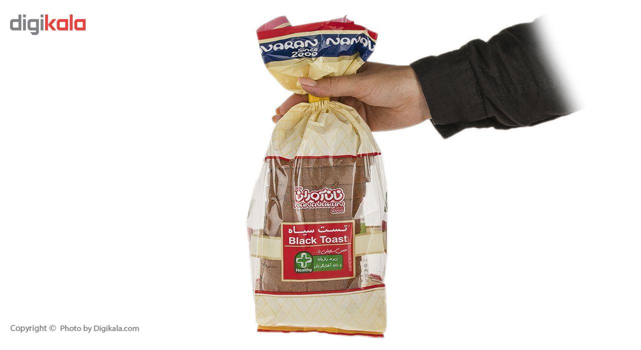 نان تست سیاه نان آوران مقدار 270 گرم main 1 6