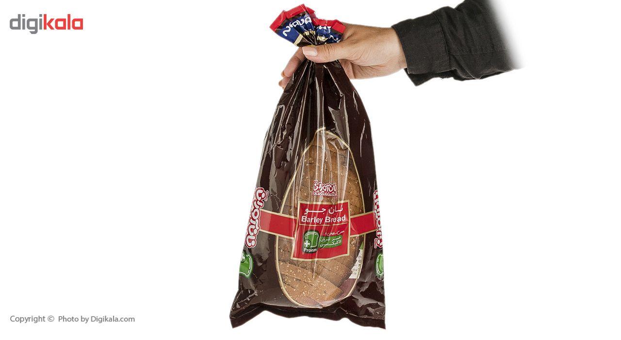 نان جو نان آوران مقدار 280 گرم main 1 7