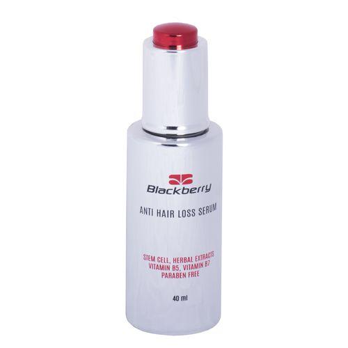 محلول ضد ریزش مو و محرک رویش مو بلک بری مدل stem sell حجم 40 میلی لیتر