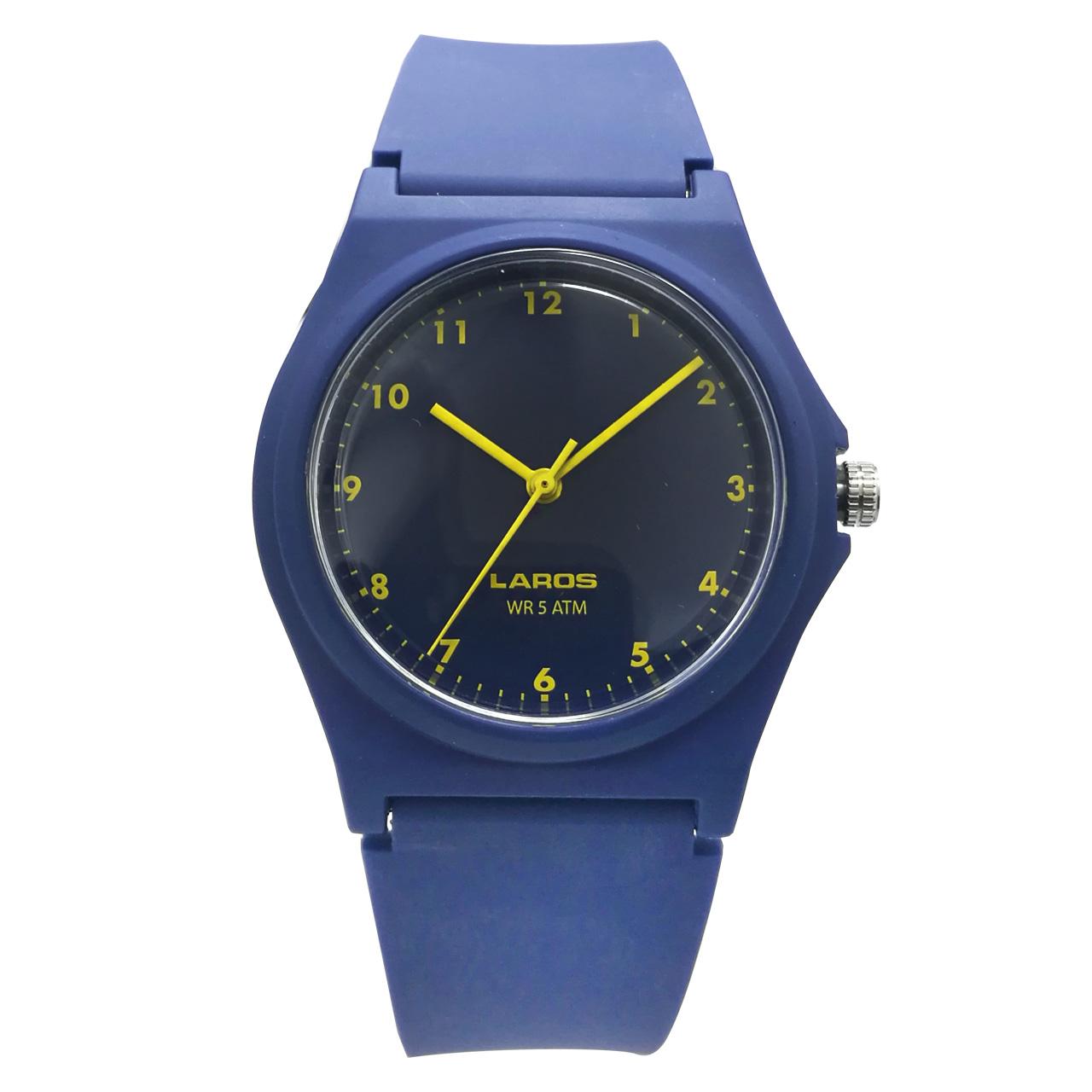 ساعت مچی عقربه ای لاروس مدل 1117-aq104
