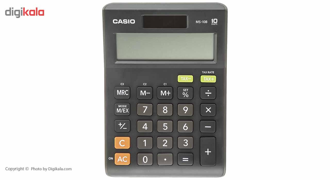 قیمت                      ماشین حساب کاسیو مدل MS-10B