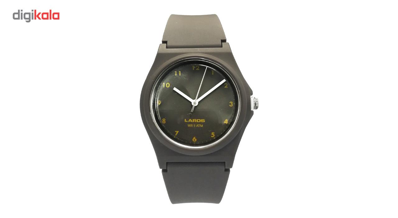 ساعت مچی عقربه ای لاروس مدل 1117-aq103