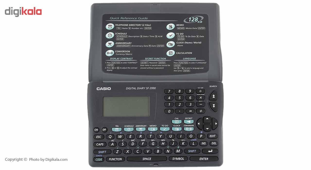 قیمت                      ماشین حساب و ارگانایزر کاسیو مدل SF-3990