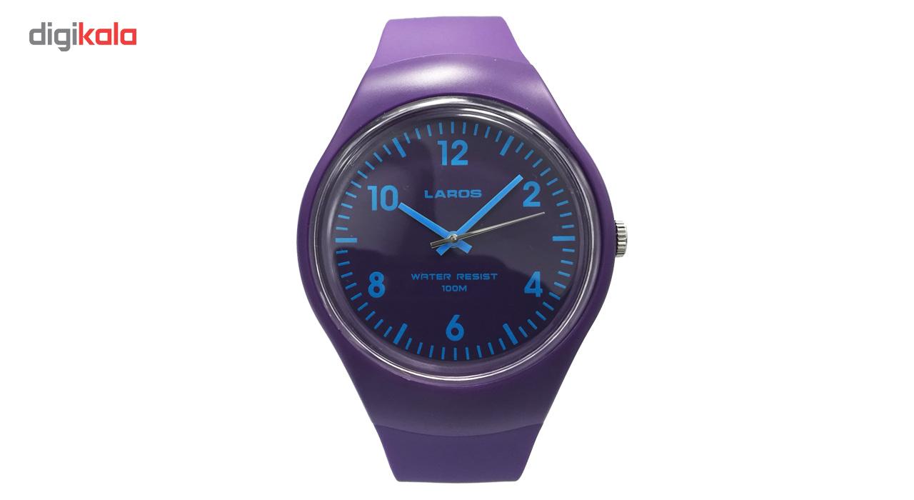 خرید ساعت مچی عقربه ای لاروس مدل 1117-aq1066a