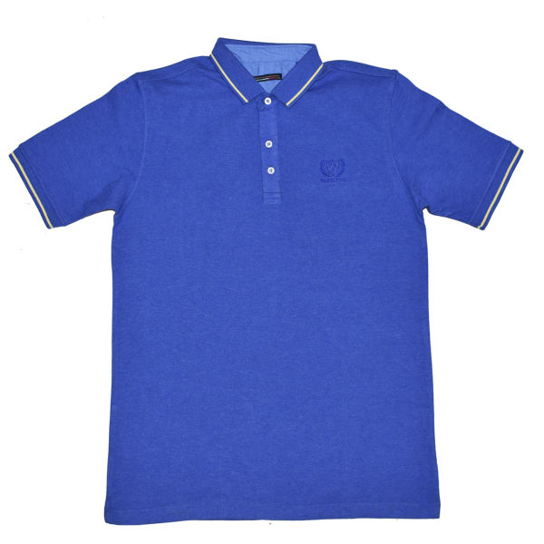 پولوشرت آستین کوتاه مردانه مدل Blue