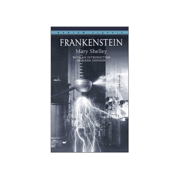 کتاب Frankenstein اثر مری شلی
