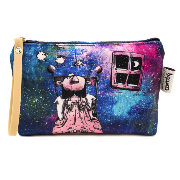 کیف لوازم آرایش هیدورا مدل رویا در کهکشان
