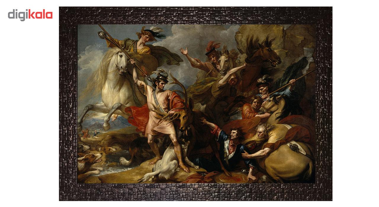 تابلو گالری هنری پیکاسو طرح مرگ گوزن کد M163