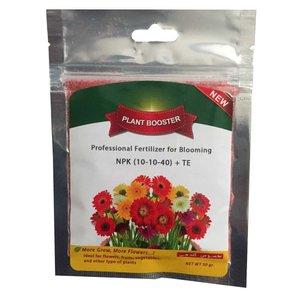 کود مخصوص گل دهی گرین دراپ مدل 40-10-10 مخصوص گل و گیاه خانگی بسته 50 گرمی