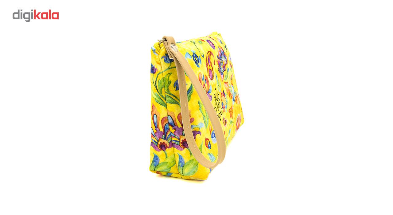کیف لوازم آرایش هیدورا مدل دل و جانم همه تو