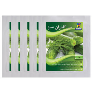 بذر خیار گلباران سبز بسته پنج عددی