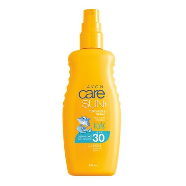 اسپری ضد آفتاب کودکان آون مدل Avon Sun Care Kids Sun Spray حجم 150 میلی لیتر