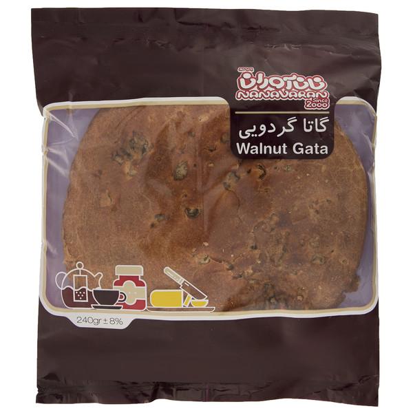 نان گاتا گردویی نان آوران - 240 گرم