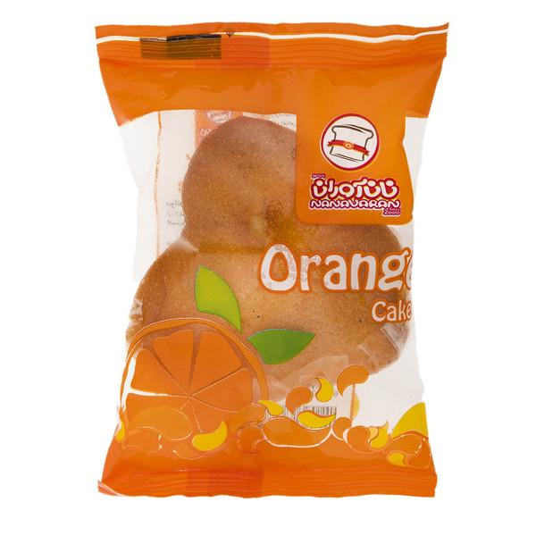 کیک پرتقالی نان آوران مقدار 65 گرم