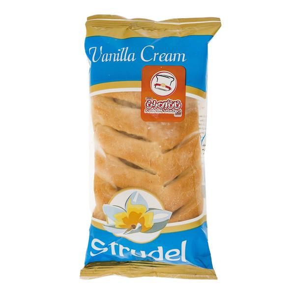 اشترودل کرم وانیل نان آوران مقدار 70 گرم