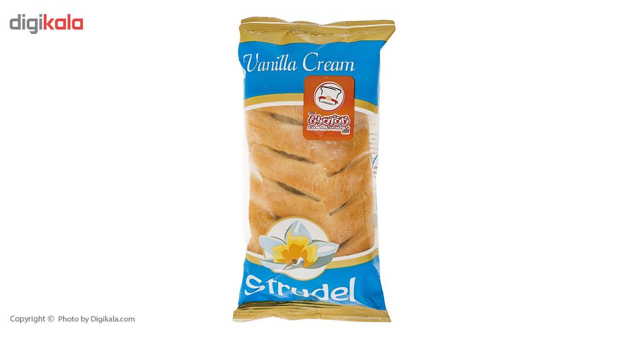 اشترودل کرم وانیل نان آوران مقدار 70 گرم main 1 2