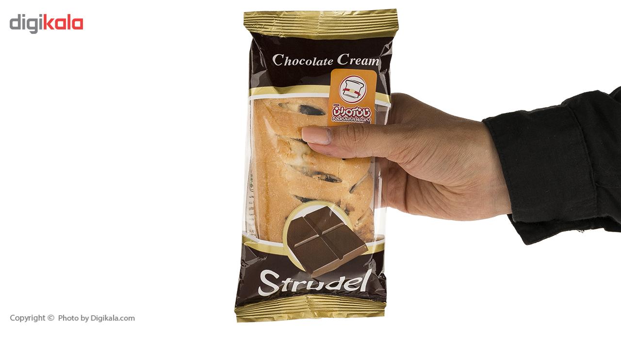 اشترودل کرم شکلات نان آوران مقدار 70 گرم