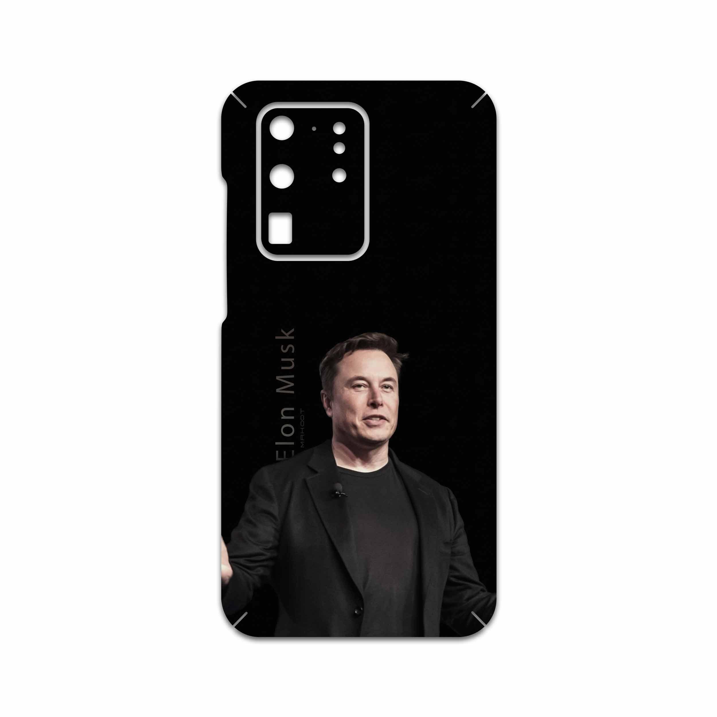 برچسب پوششی ماهوت مدل Elon Musk مناسب برای گوشی موبایل سامسونگ Galaxy S20 Ultra