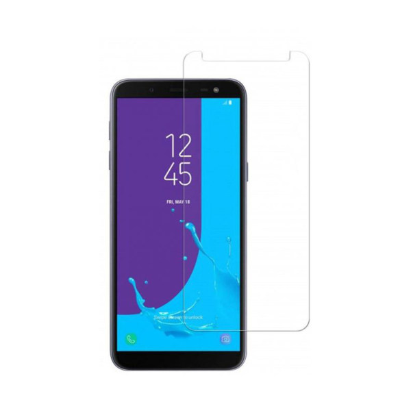 محافظ صفحه نمایش شیشه ای مدل Tempered مناسب برای گوشی موبایل سامسونگ Galaxy J6