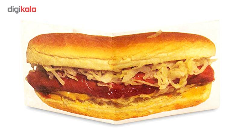 کیف پول کاغذی مایتی والت مدل  Hot Dog