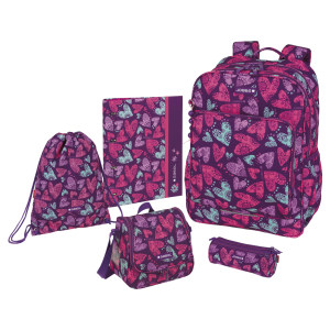 ست کوله پشتی گابل مدل Dream مجموعه 2 عددی به همراه کیف غذا و کلاسور و جامدادی