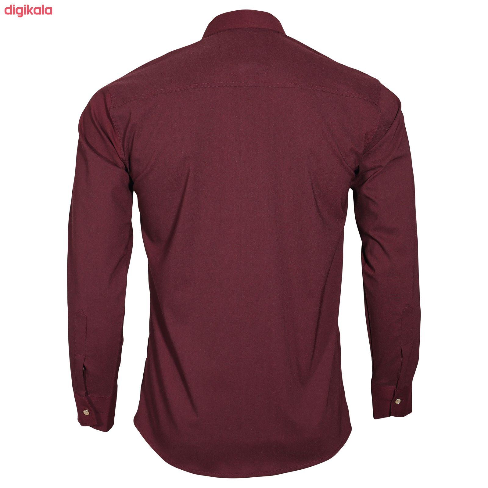 پیراهن آستین بلند مردانه مدل zk10023 main 1 2