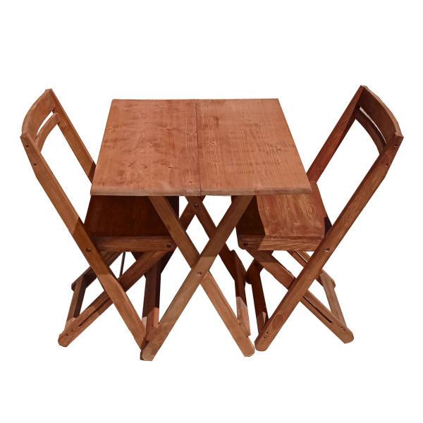 میز و صندلی ناهار خوری 2 نفره مدل nyx212