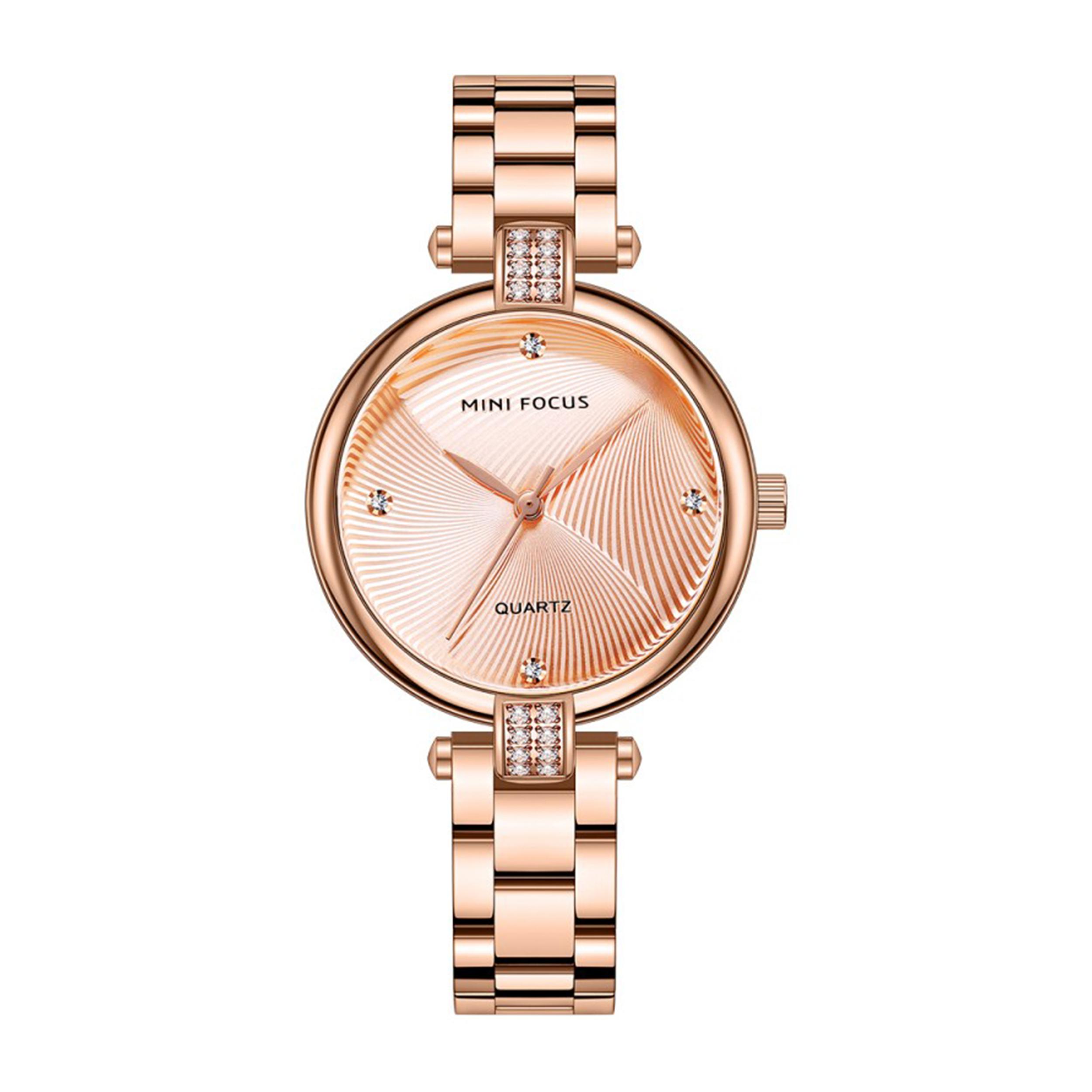 ساعت مچی عقربه ای زنانه مینی فوکوس مدل MF0310L.03