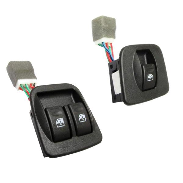 کلید شیشه بالابر کد 34 مناسب برای پراید بسته 2 عددی