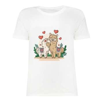 تی شرت آستین کوتاه دخترانه مدل SK991027-011