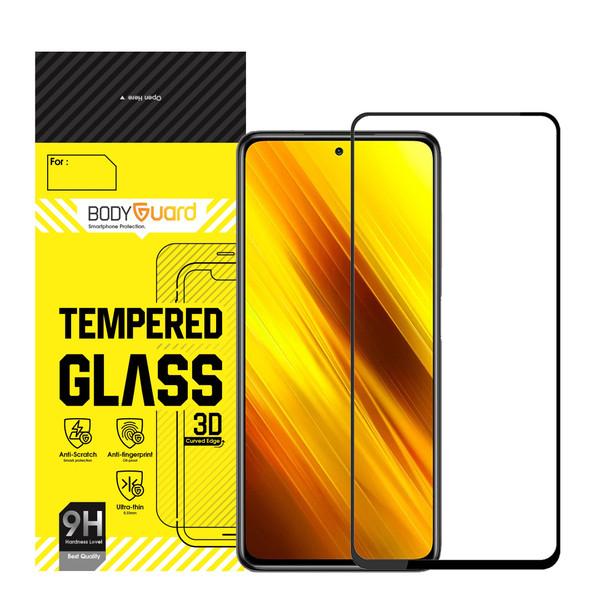 محافظ صفحه نمایش بادیگارد مدل FX مناسب برای گوشی موبایل شیائومی Poco X3