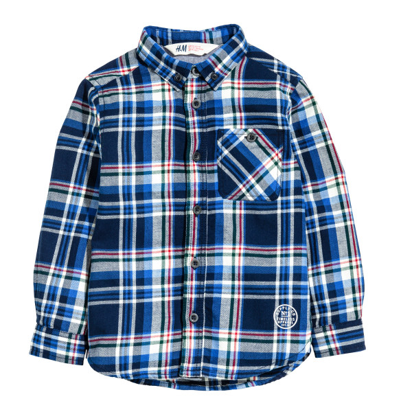 پیراهن پسرانه اچ اند ام کد 0383883