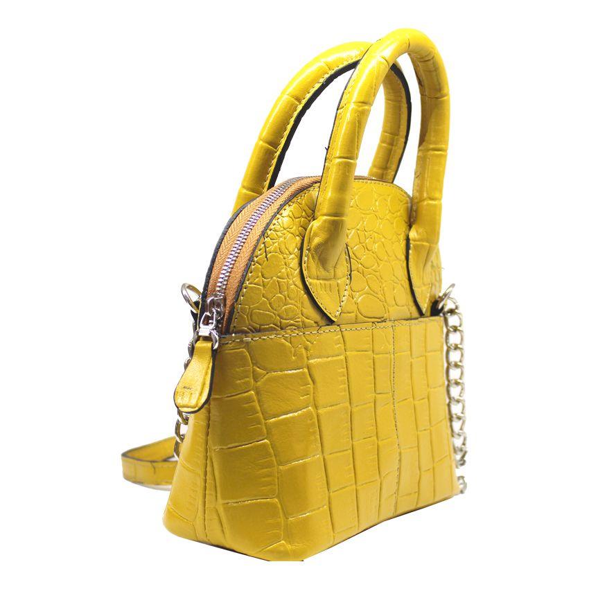 کیف دوشی زنانه چرم آرا مدل d076 -  - 9