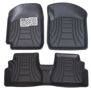 کفپوش سه بعدی خودرو ماهوت مدل لب برگردان مناسب برای پراید صبا