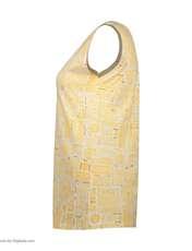 ست تاپ و شلوارک زنانه کد 0217 رنگ زرد -  - 7