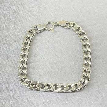 دستبند نقره مردانه مدل اسپرت کد 3278