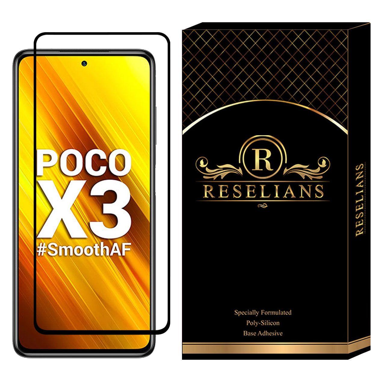 محافظ صفحه نمایش سرامیکی رزلیانس مدل CRM مناسب برای گوشی موبایل شیائومی Poco X3