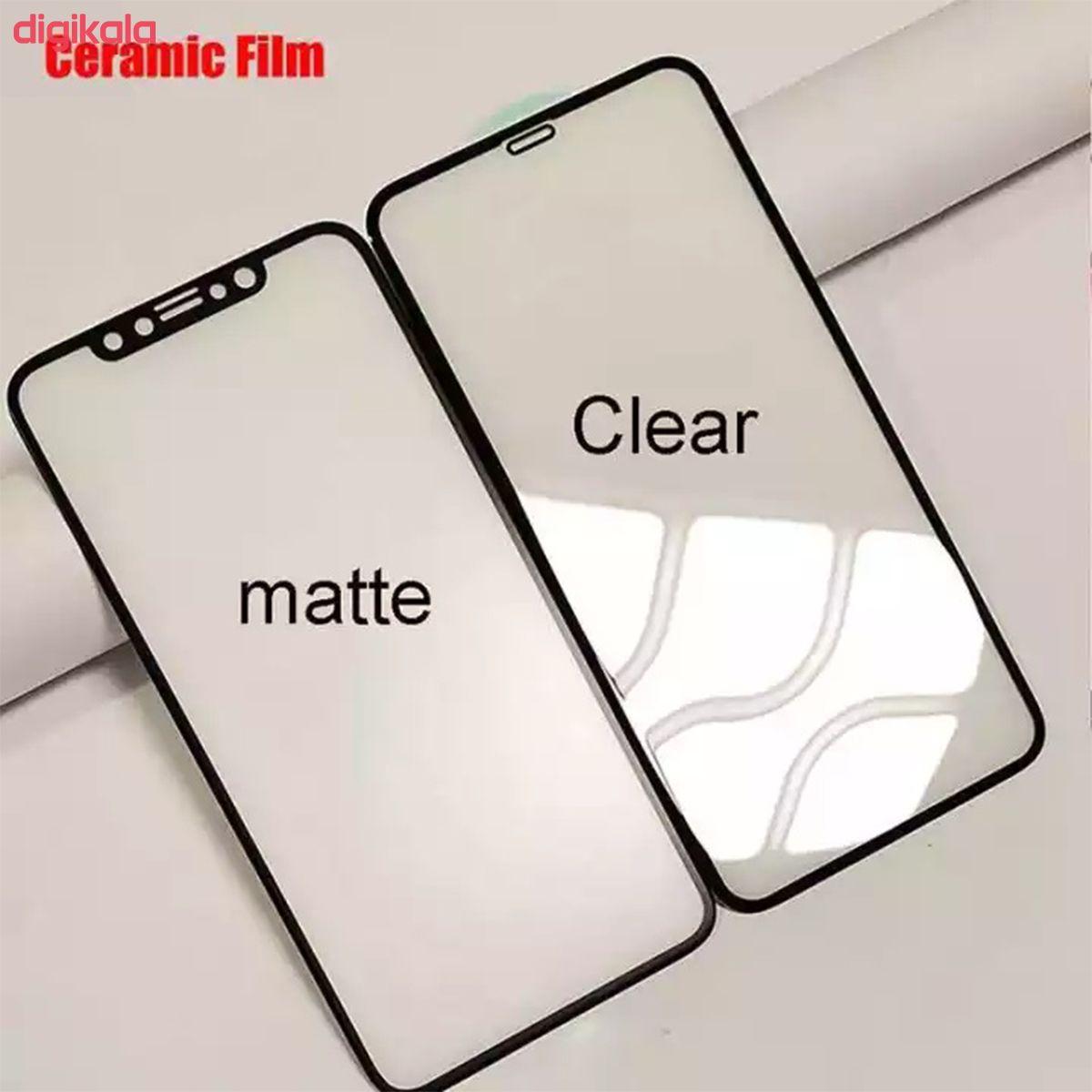محافظ صفحه نمایش سرامیکی مدل CRM_CLR مناسب برای گوشی موبایل اپل iPhone 12 Pro Max main 1 5