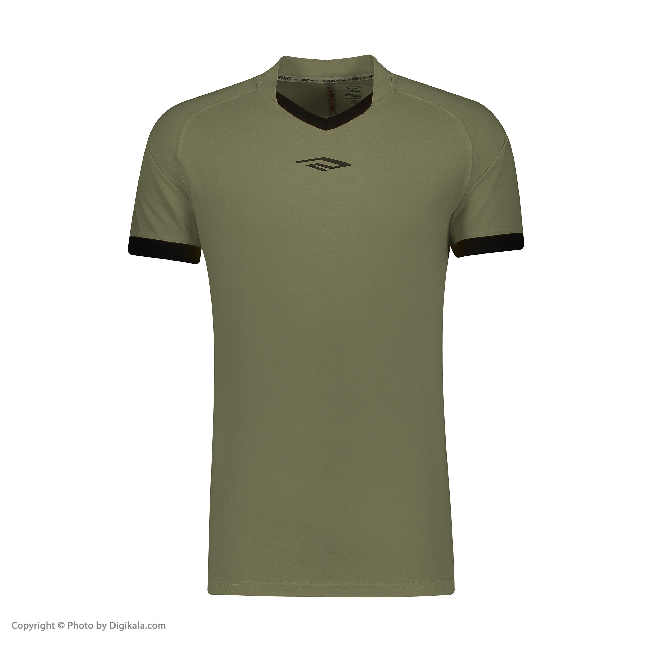 ست پیراهن و شورت ورزشی مردانه استارت مدل v1001-4 -  - 3