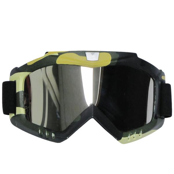 عینک موتور سواری مدل GRE-YLW