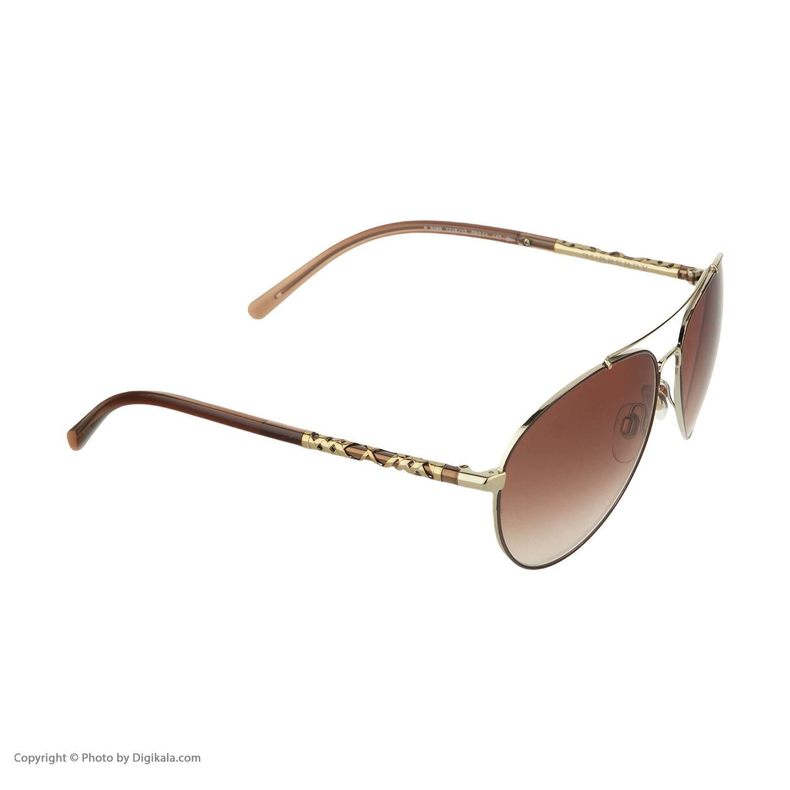 عینک آفتابی زنانه بربری مدل BE 3089S 121613 58 -  - 5
